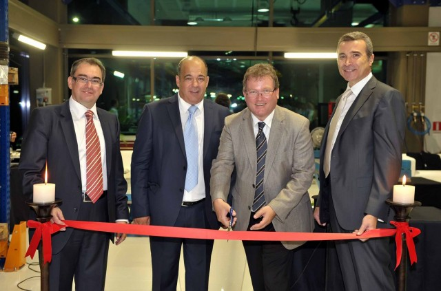 ABB Greece inaugurated its relocated Turbocharging Service Station