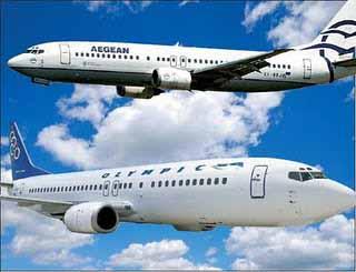 Νέα απόπειρα συγχώνευσης Olympic Air και Aegean Airlines