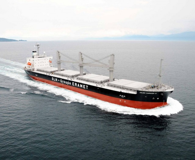 ClassNK Welcomes World's First Specialized Nickel Ore Carrier to Register