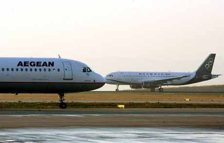 Σε ελεύθερη πτώση οι ελληνικοί αερομεταφορείς