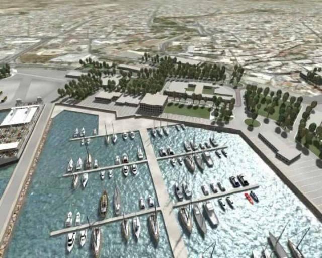 Επέκταση μώλου για τη λειτουργία μαρίνας σκαφών αναψυχής