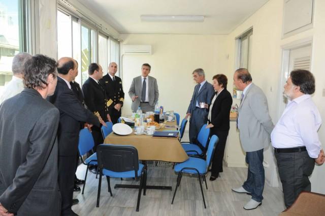 Επίσκεψη του υπουργού Ναυτιλίας και Αιγαίου στο ΓΕΝΕ
