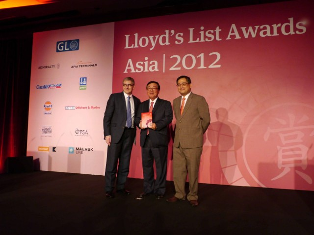 ClassNK Takes Two at Lloyd's List Asia Awards 2012