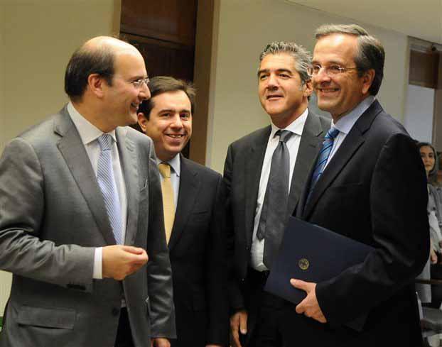 Συνάντηση Σαμαρά με εκπροσώπους COSCO, Hewlett – Packard και ΤραινΟΣΕ
