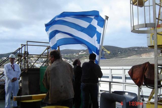 Μειώθηκε η δύναμη του ελληνικού εμπορικού στόλου