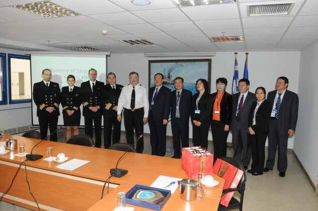 Συνάντηση αρχηγού Λ.Σ. με αντιπροσωπεία της Κινεζικής State Oceanic Administration