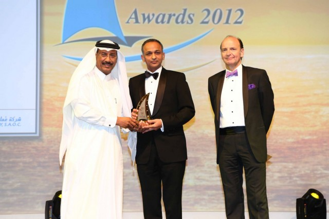 Smit Lamnalco wins award at maritime industry 'Oscars'