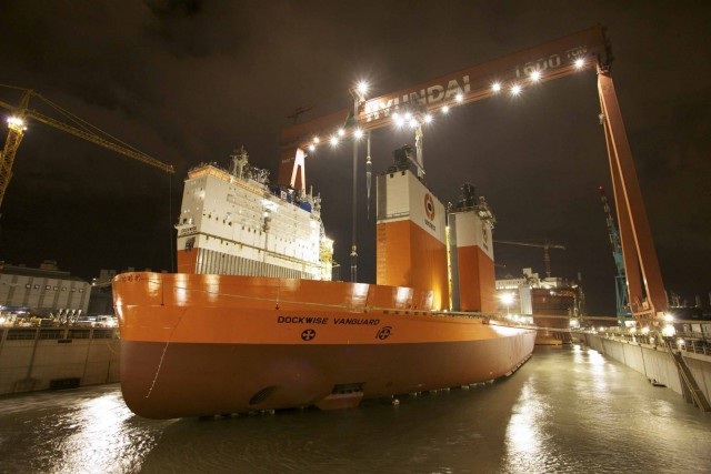 Amarcon receives OCTOPUS-Onboard order for Dockwise Vanguard