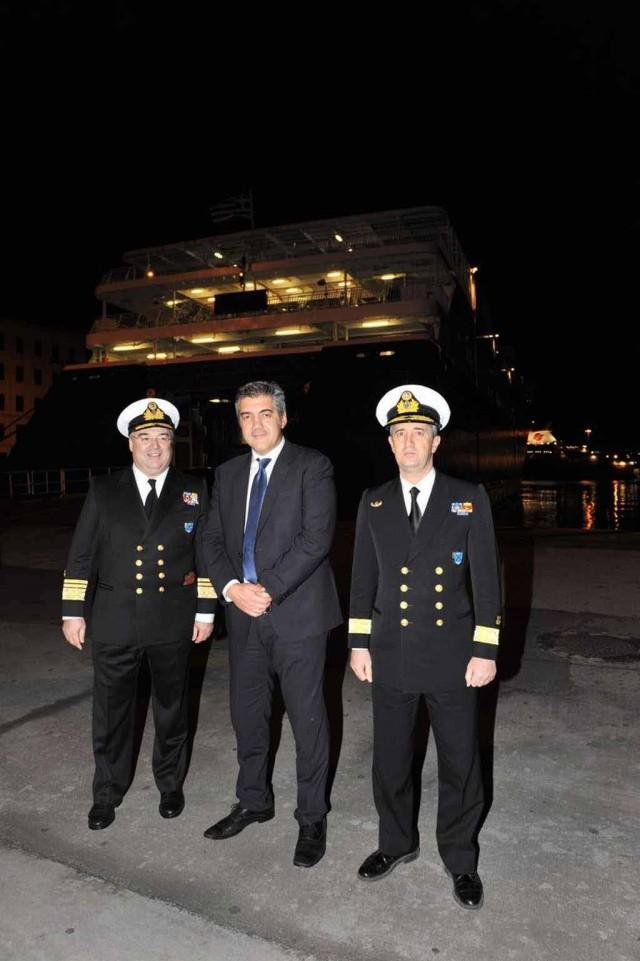 Κατάπλους πρώτου Ε/Γ-Ο/Γ πλοίου για το έτος 2013