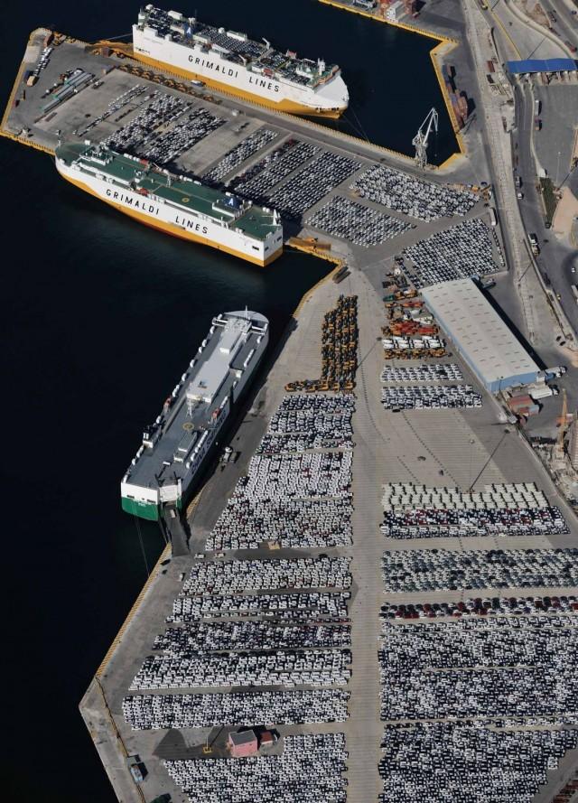 Στη διεθνή αγορά μεταφοράς αυτοκινήτων θα προβληθούν οι νέες δυνατότητες του Πειραιά