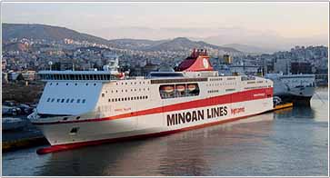 Νέα ώρα αναχώρησης των πλοίων της Minoan Lines