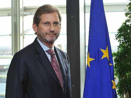 Επίσκεψη του Επιτρόπου  Johannes HAHN