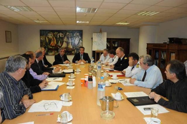 Συνεδρίαση Συμβουλίου Ναυτικής Εκπαίδευσης