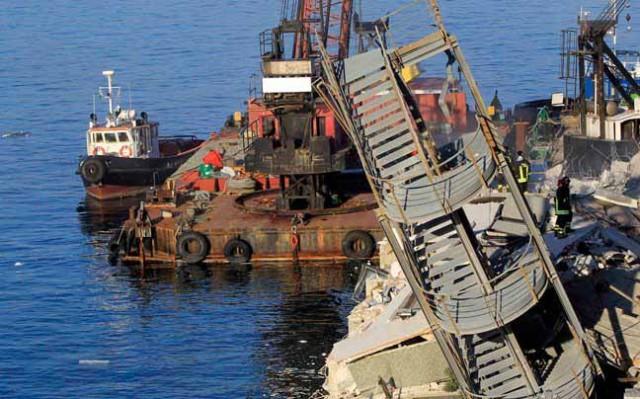 Πρόσκρουση πλοίου στο λιμάνι της Γένοβας