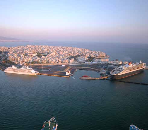 Εγκαίνια του διεθνή επιβατηγού σταθμού στον Πειραιά
