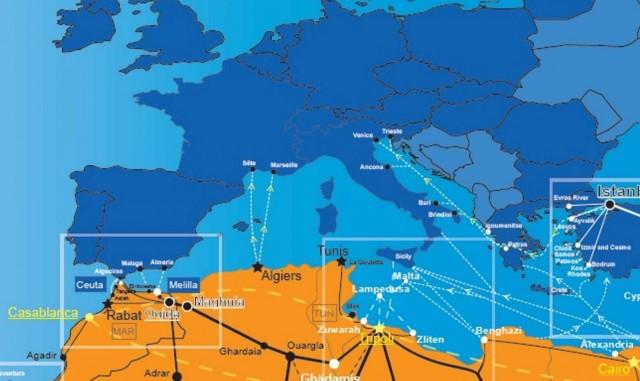 Θέσπιση κανόνων για επιτήρηση θαλάσσιων συνόρων των κρατών μελών της Ευρωπαϊκής Ένωσης