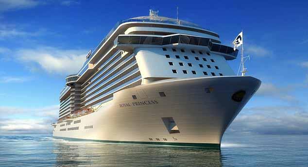 Το Royal Princess επισκέπτεται το λιμάνι του Πειραιά