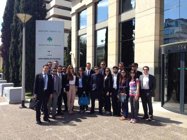 Επισκέψεις φοιτητών του ALBA Graduate Business School at The American College of Greece σε ναυτιλιακές εταιρείες