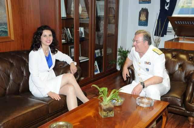 Συνάντηση αρχηγού Λ.Σ με  γενική πρόξενο της Τουρκίας