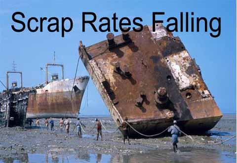 Διαλύσεις πλοίων: Όταν οι μουσώνες είναι σε πλήρη εξέλιξη, οι End Buyers απέχουν από την αγορά