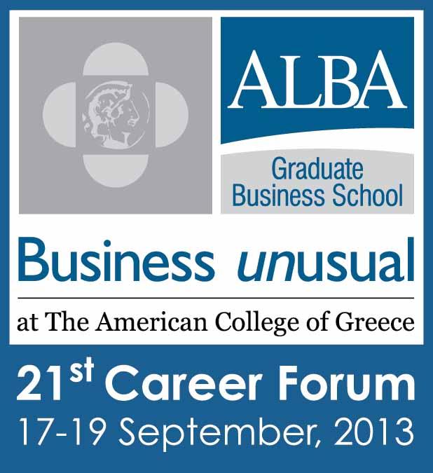 Ετήσια συνάντηση των τελειόφοιτων του ALBA Graduate Business School at The American College of Greece με τους εκπροσώπους της αγοράς στο 21ο ALBA Career Forum