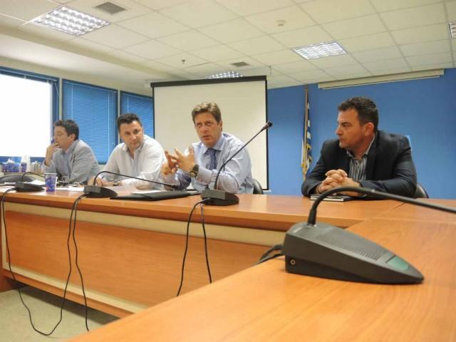 Συνάντηση YNA με Πανελλήνια Ομοσπονδία Ενώσεων Προσωπικού Λιμενικού Σώματος