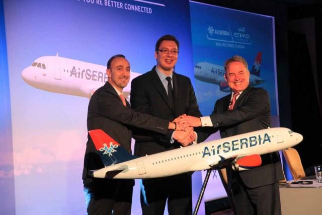 Στρατηγική συνεργασία ETIHAD AIRWAYS και Jat Airways
