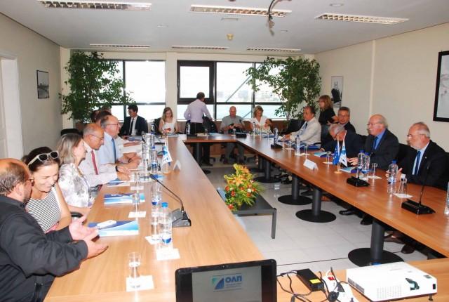 Παρουσίαση δραστηριοτήτων και οικονομικών δεικτών του ΟΛΠ στα μέλη της IMCO