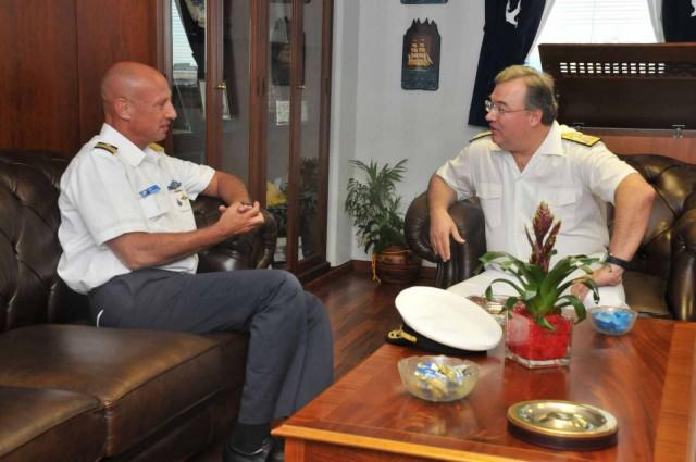 Συνάντηση Αρχηγού Λ.Σ. με τον Υπαρχηγό του Ναυτικού του Ισραήλ