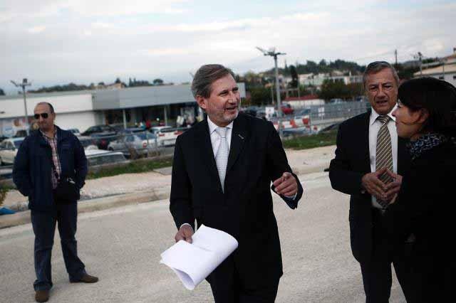 Oλοκλήρωσε τις επισκέψεις του o Επίτροπος Johannes Hahn