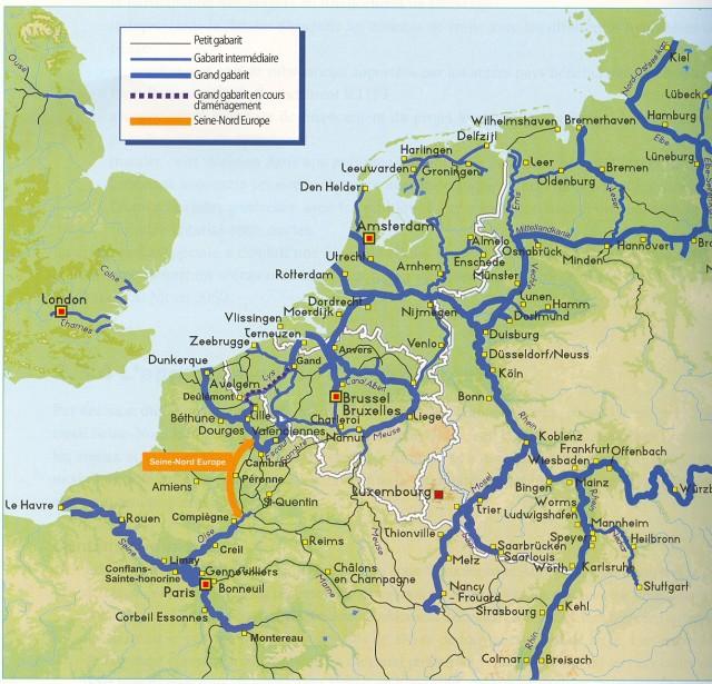 Η σύνδεση Παρισιού μέσω ποτάμιου δικτύου με τις χώρες της Benelux και πάλι στο προσκήνιο