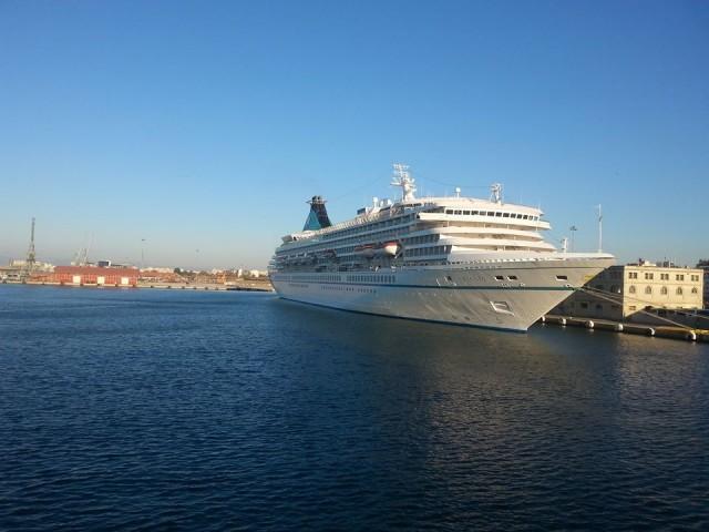 Τελευταία άφιξη κρουαζιερόπλοιου στην Θεσσαλονίκη για το 2013
