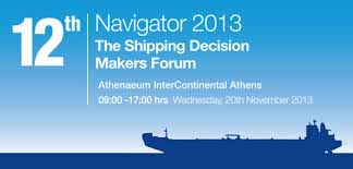 NAVIGATOR 2013 – The Shipping Decision Makers Forum