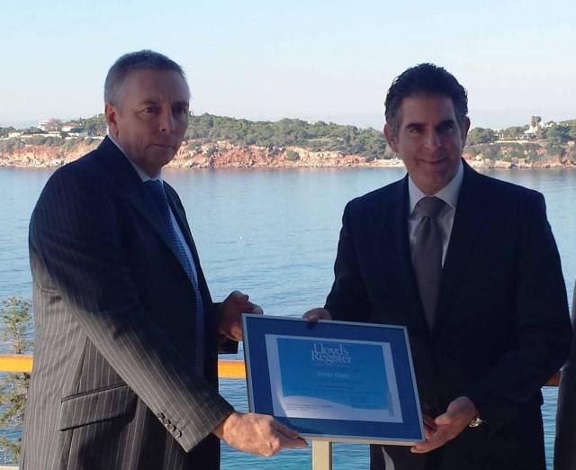 Αstir Μarina Vouliagmenis receives accreditation by Lloyd's Register becoming the first marina globally to enter the Lloyds's Register marina accreditation scheme
