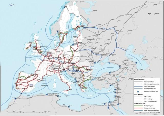Η Ευρωπαϊκή Επιτροπή διαθέτει €350 εκ. για χρηματοδότηση έργων TEN-T