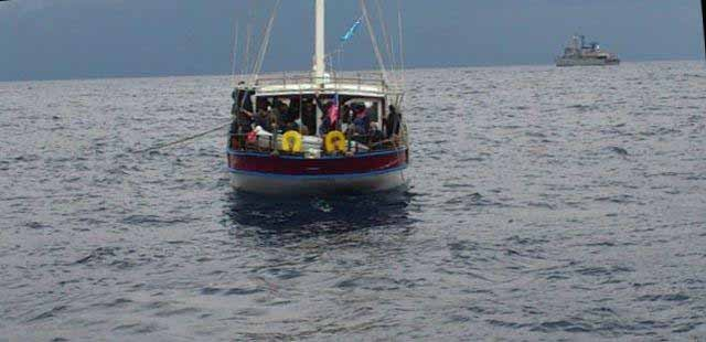 Επιχείρηση διάσωσης 85 παράνομων μεταναστών
