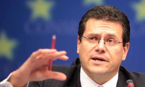 Στην Αθήνα ο αντιπρόεδρος της Ευρωπαϊκής Επιτροπής