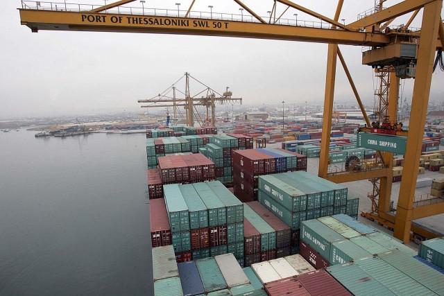 Άνοδος στη διακίνηση φορτίων το 2013 απο το λιμάνι της Θεσσαλονίκης