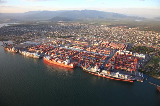 Εκβάθυνση στο λιμάνι του Santos στην Βραζιλία