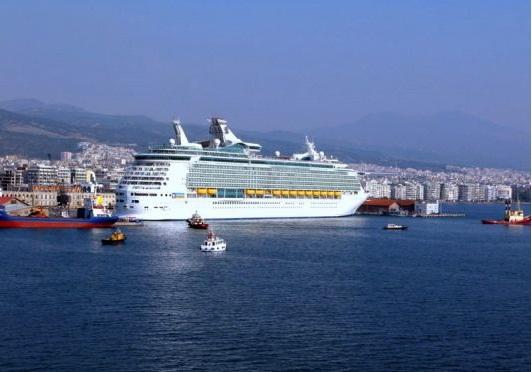 25 κρουαζιερόπλοια στη Θεσσαλονίκη το 2014