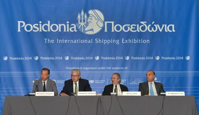 Τα Ποσειδώνια 2014 βρήκαν τη ναυτιλία των Ελλήνων να διατηρεί την ηγετική της θέση