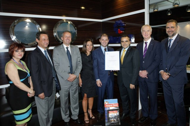 Aegean Shipping Management awarded Business Continuity certification by Lloyd's Register