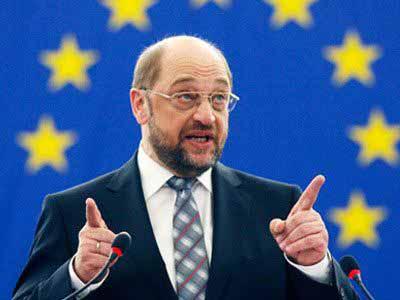 Επανεξελέγη πρόεδρος του Ευρωκοινοβουλίου ο Μάρτιν Σουλτς