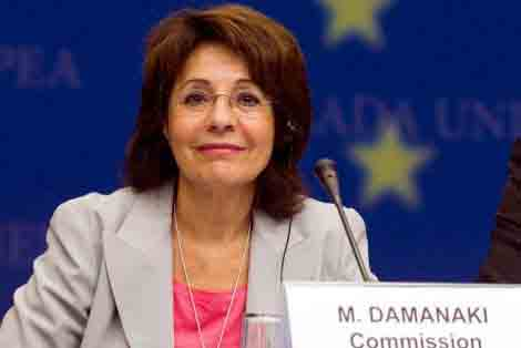 Αλλαγή ευρωπαϊκής πρωτεύουσας για την Μαρία Δαμανάκη