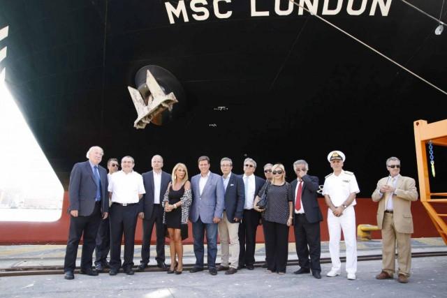Στον Πειραιά το μεγαλύτερο φορτηγό πλοίο του κόσμου