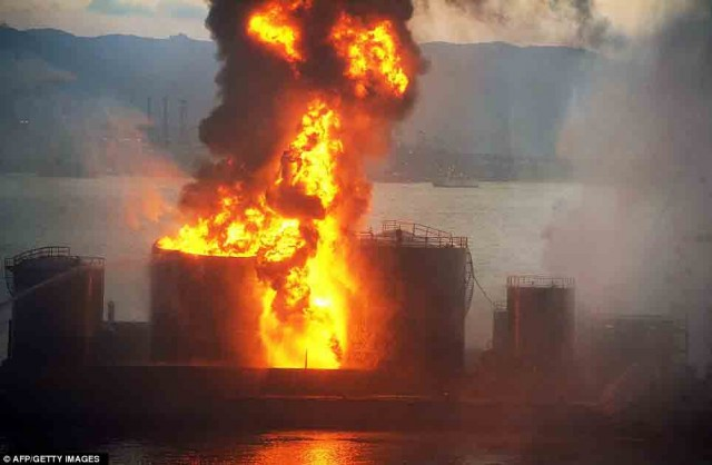 Έκρηξη δεξαμενόπλοιου σε λιμάνι του Βιετνάμ