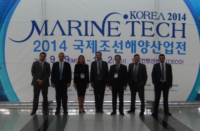 Επιτυχής η επιχειρηματική αποστολή των Ελλήνων Κατασκευαστών Ναυτιλιακού Εξοπλισμού στην Κορέα