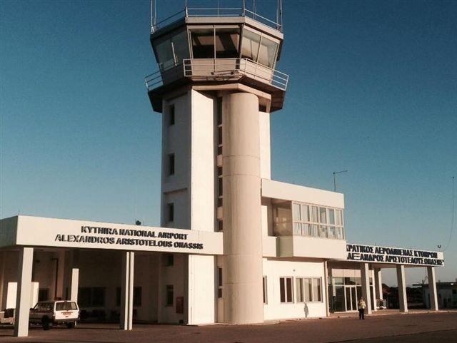 Σε Αλέξανδρος Αριστοτέλους Ωνάσης μετονομάστηκε ο αερολιμένας Κυθήρων
