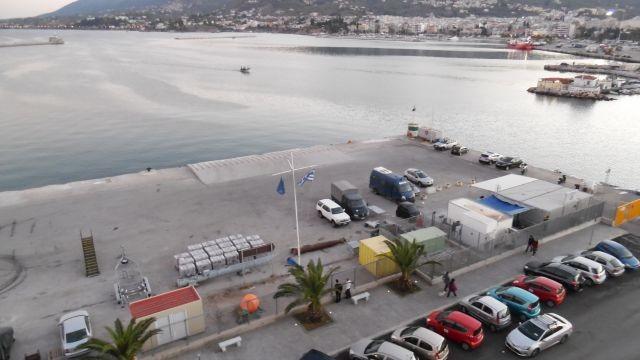 Όχι άλλες εικόνες ντροπής στο λιμάνι της Μυτιλήνης