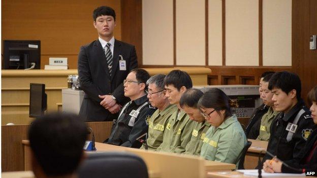 Υπερβολική κι άδικη η καταδίκη του πληρώματος του Sewol (;)